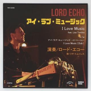 LORD ECHO - I LOVE MUSIC(来日記念盤)