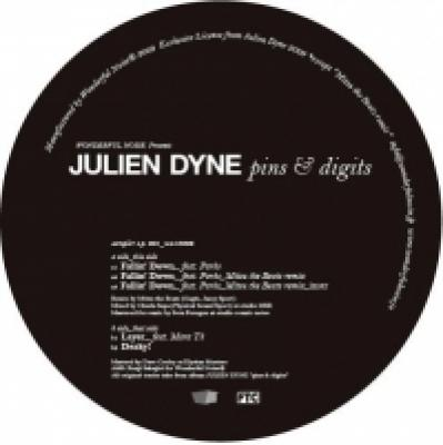 JULIEN DYNE / Pins & Digits album sampler E.P.