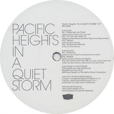 Pacific Heights / In A Quiet Storm EP