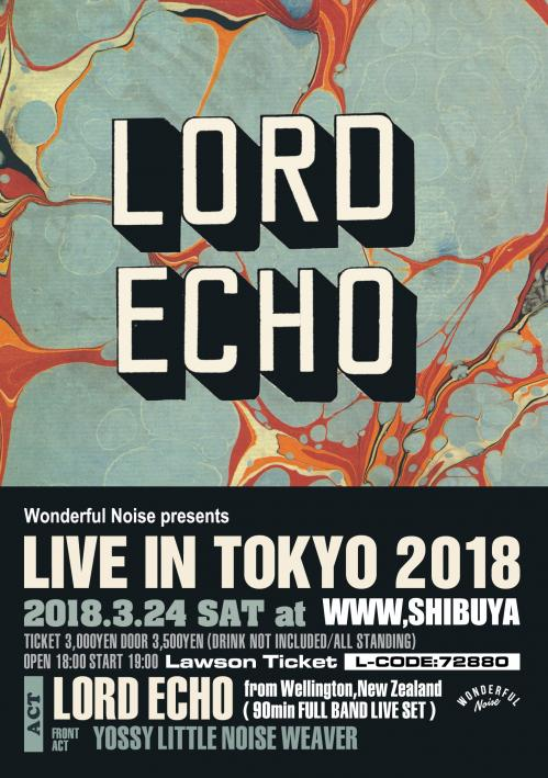 LORD ECHO Live in Tokyo